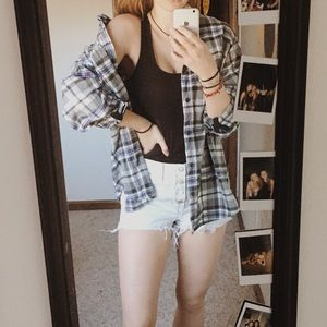 Baggy flannel
